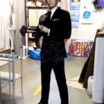 Фигура Джеймс Бонд пластик