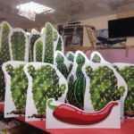 Изготовление ростовых фигур из картона